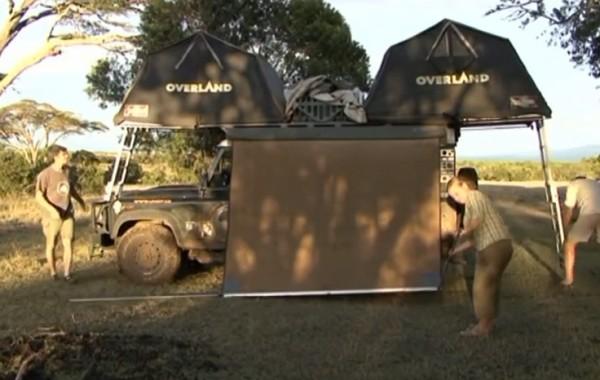 Video z kempování